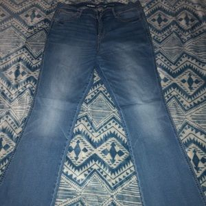 Old Navy Mid-Rise Micro Flare Jeans